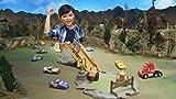 Disney Cars - Pista Sfida Smokey - con Un Veicolo Incluso - 3 Modalità di Gioco e Trattori Rotanti, FLK03