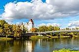 druck-shop24 Wunschmotiv: Neues Schloss, Ingolstadt