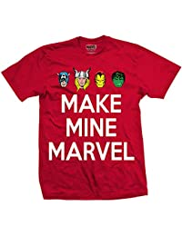 Y Amazon Marvel Camisetas Comics Polos es Camisetas qASYwvq