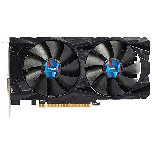 Computer Grafikkarte für Yeston RX550 GPU4GB GDDR5 128 Bit Gaming Desktop PC Grafikkarten DVI/HDMI