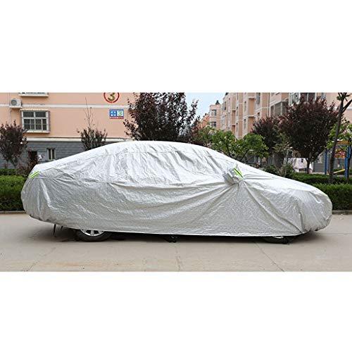 IMBM Car Cover Isolation Four Seasons Disponible épais imperméable/crème Solaire/résistant aux Rayures/Anti-poussière Voiture Cover (Color : C)