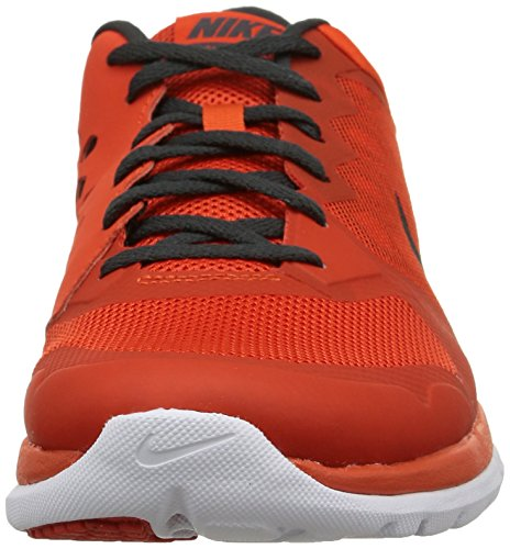 Nike Herren Flex 2015 Rn Laufschuhe mehrfarbig (Team Orange/Blk-Anthrct-White)