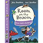 Room on The Broom Oversize 400 Sticker Stickers Activity Book A Gruffalo Family Book