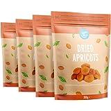 Marchio Amazon - Happy Belly Albicocche Essiccate, 300gr x 4