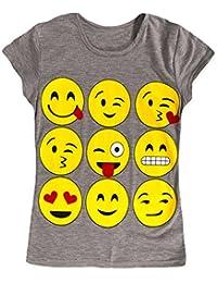 Jolly Rascals Emoji Top, Camiseta para Niños