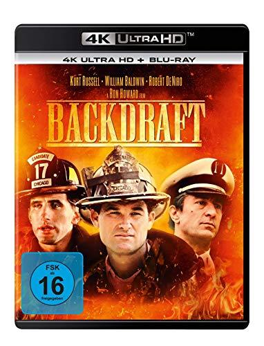 Backdraft - Männer, die durchs Feuer gehen (4K Ultra HD) (+ Blu-ray 2D)
