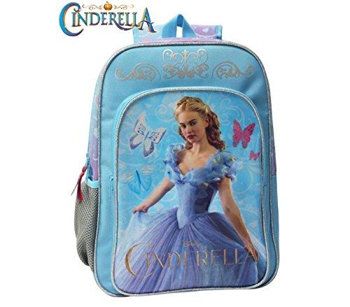 Zaino a spalla scuola e tempo libero Cinderella Disney cartella Cenerentola 30 x 40 x 16 cm 4212351 mws