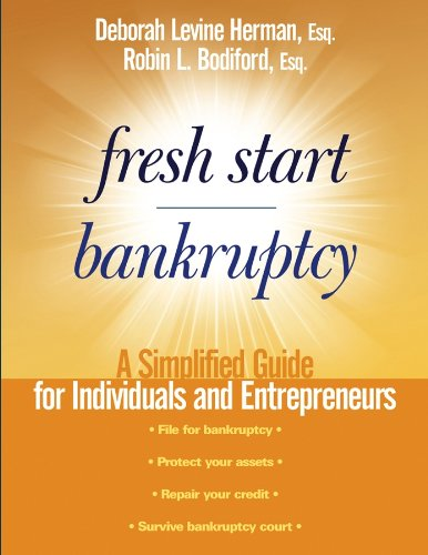 Fresh Start Bankruptcy: A Simplified Guide for Individuals and Entrepreneurs (English Edition)