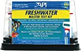 Freshwater Master Test Kit is a complete kit for testing aquarium water.Tests water 6 different ways to protect tropical fish from dangerous water conditions.Tests include: freshwater pH, ammonia, nitrite, high range pH, and nitrate, 4 test tubes, tr...