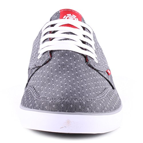 Element Topaz, Chaussures de skateboard homme Charcoal Red