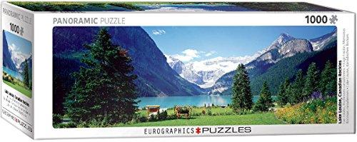 EuroGraphics Lake Louise Canadian Rockies Puzzle (1000 Piece)