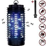 Monzana® Insektenvernichter Insektenfalle Elektronisch 25m² Mückenvernichter Elektrisch Insektenlampe Insektenschutz UV-Licht 2 Reinigungspinsel