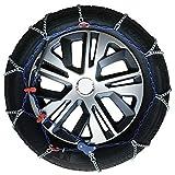 Catene da Neve Auto 205/50-17 R17 UltraSottili da 7 mm (Omologate)