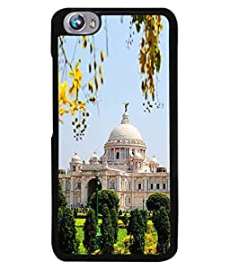 PrintVisa Victoria Memorial Hall High Gloss Designer Back Case Cover for Micromax Canvas Fire 4 A107