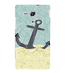 EPICCASE Anchor dropped Mobile Back Case Cover For Sony Xperia SP (Designer Case)