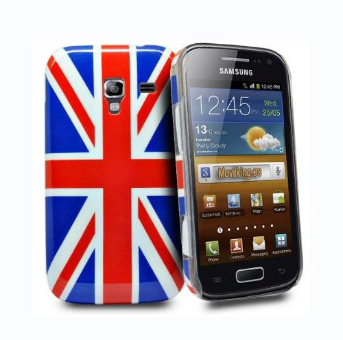 Telefono negozio - bandiera Regno Unito cover rigida per Samsung galaxy ace 2 i8160
