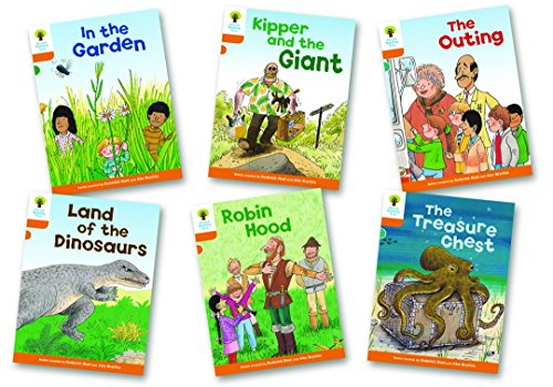 Oxford Reading Tree Biff, Chip and Kipper Level 6. Stories: Mixed Pack of 6