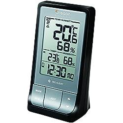 Oregon Scientific - RAR 213 HG Thermo Hygro Intérieur/ Extérieur Bluetooth - Gris/Noir