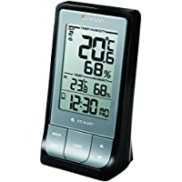 Oregon Scientific RAR213 Wireless Indoor/Outdoor Thermo Hygrometer with Bluetooth Connectivity Black
