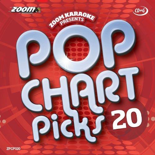 Zoom Karaoke CD+G - Pop Chart Picks 20 - 20 Tracks [Card Wallet] By Zoom Karaoke (2014-02-18)