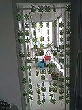 LJ&XJ Hängende Partition Kunststofftür Vorhang,Linie Vorhang Wohnzimmer schönheitssalon Schlafzimmer Zimmer Shop Dekorative Tür Vorhang-B 85x110cm(33x43inch)