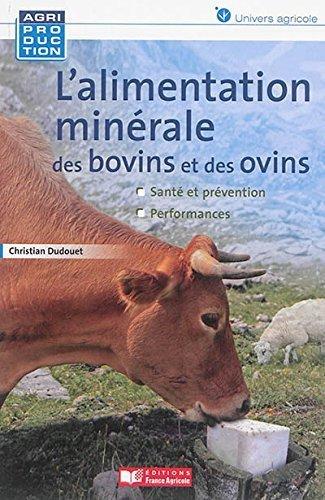 Alimentation minérale des ovins et des ...