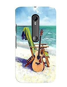 Citydreamz Guitar/Music/Instruments/Fun Hard Polycarbonate Designer Back Case Cover For Motorola Moto G Dual SIM (Gen 3), Motorola Moto G3 Dual SIM