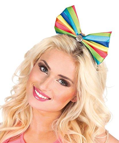 Boland 55503 - Haarreif Candy Clown, Einheitsgröße, Mehrfarbig