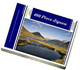 Photo Jigsaw Puzzle of Wastwater, Yewbarrow, Great Gable and Scafell Pike in the distance, Wasdale