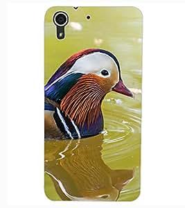 ColourCraft Beautiful Bird Design Back Case Cover for HTC DESIRE 626G+