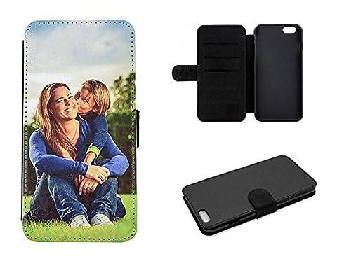 Flipcase Etui für Apple iPhone-Serie mit eigenem Foto und Text * Flip Tasche Handy Book Schutzhülle, Flipcase iPhone:Apple iPhone 6 / 6S