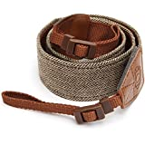 HITSAN Generic Universal Camera Shoulder Neck Vintage Strap Belt for SLR DSLR Digital (1Pc)