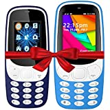 I KALL K3310 (Dark Blue) And K35(Light Blue) Combo Of Dual Sim Mobile With 101 Days Replacement Warranty With 1 Year Manufacturer Warranty