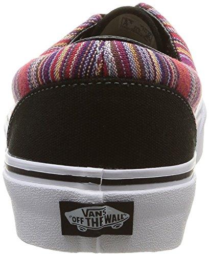 Vans - U Era Guate Weave, Sneaker Unisex – Adulto Multicolore (Guate Weave/Black/Multi)