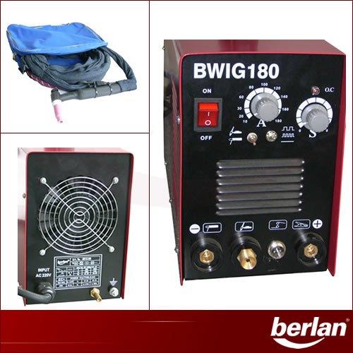 Berlan WIG/TIG Inverter Schweißgerät 180A - BWIG180 - 4