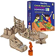 Smartivity Chain Reaction Colliding Dominoes STEM STEAM Educational DIY Building Construction Activity Toy Gam
