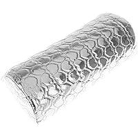 TOOGOO (R) Herramienta de la manicura - Cojines resto-mano Profesional Titular esponja Resto del amortiguador suave apoyabrazo plata