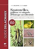 Sauterelles, grillons et criquets d'Europe ocidentale (1CD audio)