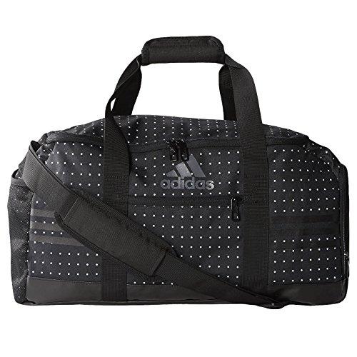 adidas Damen Sporttasche 3 Stripes Performance Teambag Small, schwarz, 49.5 x 23 x 25 cm, 28 Liter