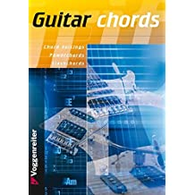Guitar Chords: More than 4000 Chords Voicings, Slash Chords and Power Chords (Englische Ausgabe der Grifftabelle für Gitarre)