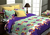 HomeStrap Classic Collection Cotton Double Bedsheet - Queen