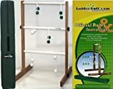 Ubergames Leitergolf Laddergolf Professional Set aus ECO Massivholz, mit echte Golf Bolas