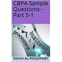 CBPA Sample Questions - Part 5-1