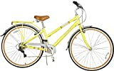 Huffy Sportsmen 700x35c 26775 Hybrid Cycle (Yellow, Silver)'