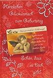 Glückwunschkarte Zum Geburtstag mit Schutzengel Checkkarte Typ2