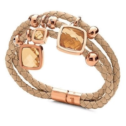 folli-follie-elements-rose-gold-plated-beige-woven-bracelet-50101672