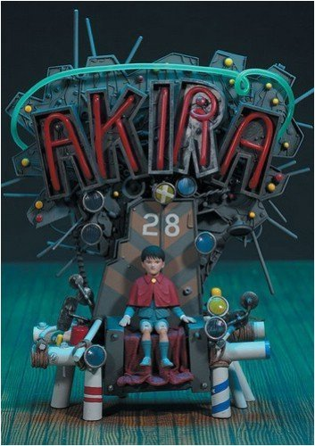 Image of Akira Anime Figure on Throne by Mcfarlane