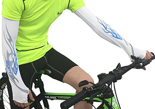 Liying Neu Armlinge UV-Schutz Armschützer Bike Fahrrad Auto Basketball Ärmelstulpen Armwärmer für Outdoor
