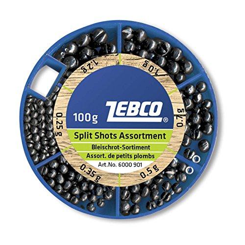 Zebco Bleischrot-Sortiment 100g, fein, 100 g