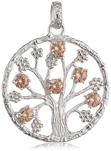 Julie Julsen-Ciondolo da donna in argento 925rodiato con zirconi oro-jj8717.4